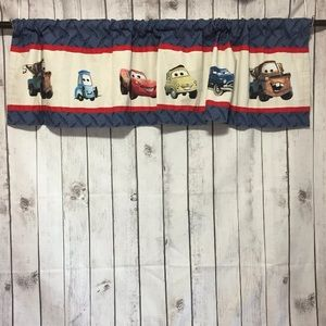 "Lot of 2 Disney Pixar Cars Window Valances 60""x15"""